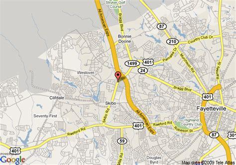 fort bragg carolina map map of inn express fayetteville fort bragg