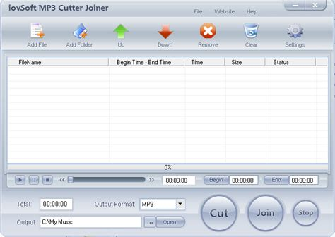 download mp3 cutter and joiner latest version mp3 cutter joiner iovsoft 3 12 full version free download