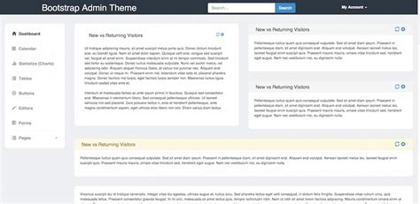 bootstrap v3 themes top 22 free responsive html5 admin dashboard templates