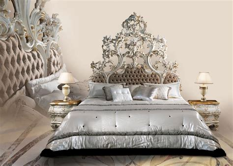 Luxury Tufted Headboards by Bed In White Lacquered Wood Upholstered Tufted Headboard