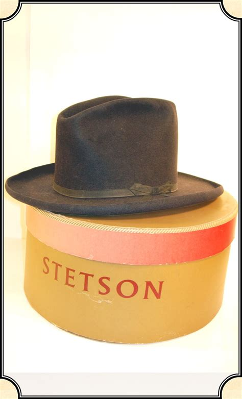 Sale Original original s stetson hat with box