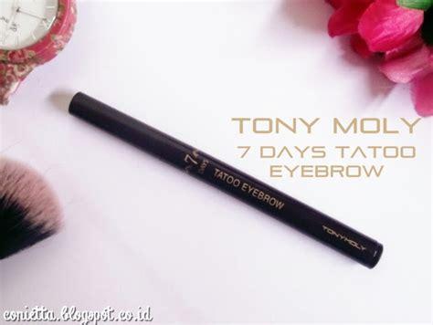 Harga Tony Moly Eyebrow review tony moly 7 days tatoo eyebrow conietta cimund