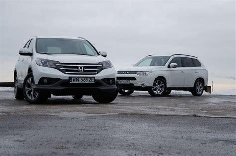Sparepart Honda Vs Mitsubishi mitsubishi outlander vs honda cr v test