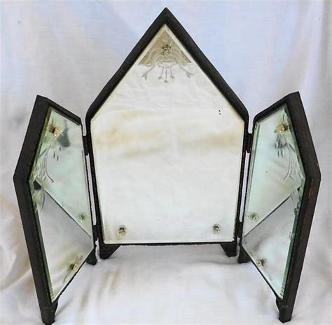 vanity table with a tri fold mirror useful reviews of