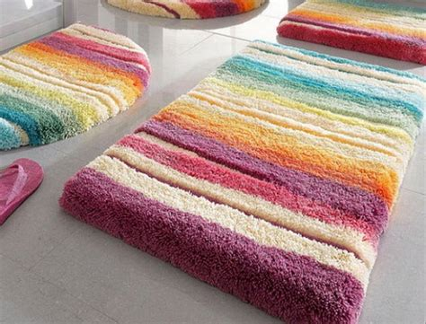 colorful bathroom rugs 25 cool colorful bath rugs eyagci
