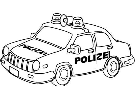 Polizeiauto Zum Malen by Polizeiwagen Zum Ausmalen 01 Ausmalbilder