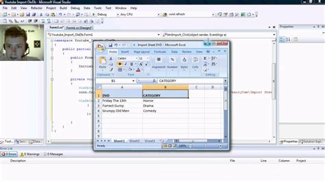 excel online tutorial youtube c import from excel using oledb tutorial youtube