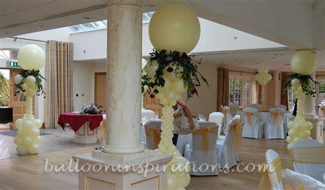 Elegant Wedding Decor   Balloon decorations with flower