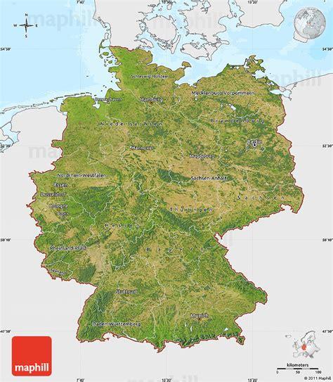 germany satellite map deutschland satelliten karte