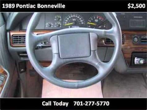 1989 pontiac bonneville problems online manuals and repair information