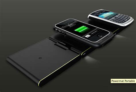 Cell Phone Mat Charger by Powermat Wireless Chargers Unleashed Into The Atmosphere