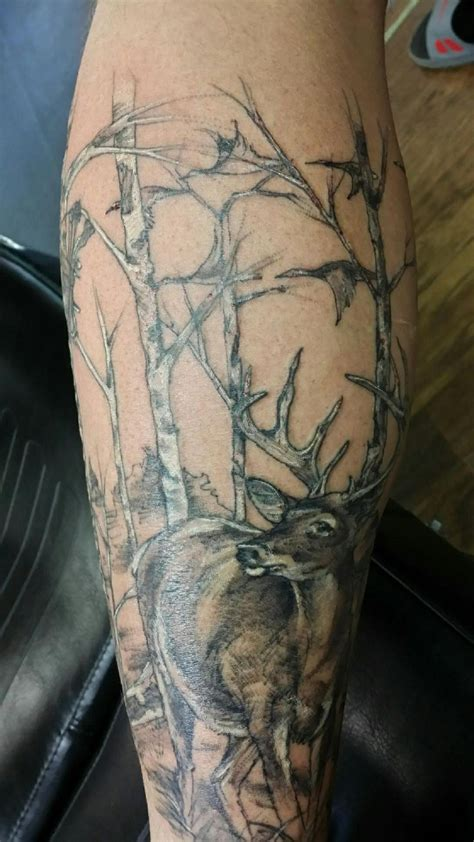 hunting tattoos 578 best deer ideas images on
