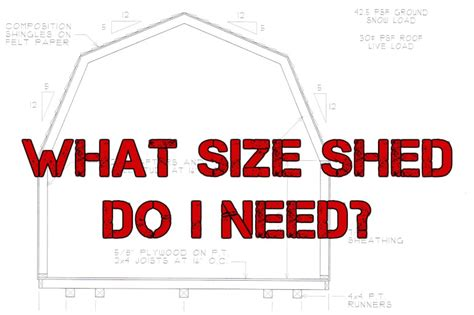 Do You Need A Permit For A Shed by What Size Shed Do I Need Your Guide To Buying Or Building