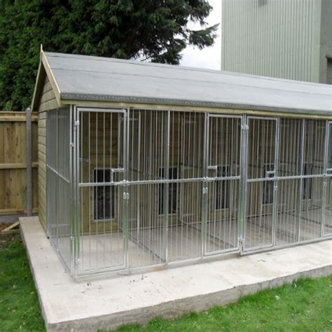 outdoor dog kennel 10x10x6ft outdoor chain link large dog kennels for sale
