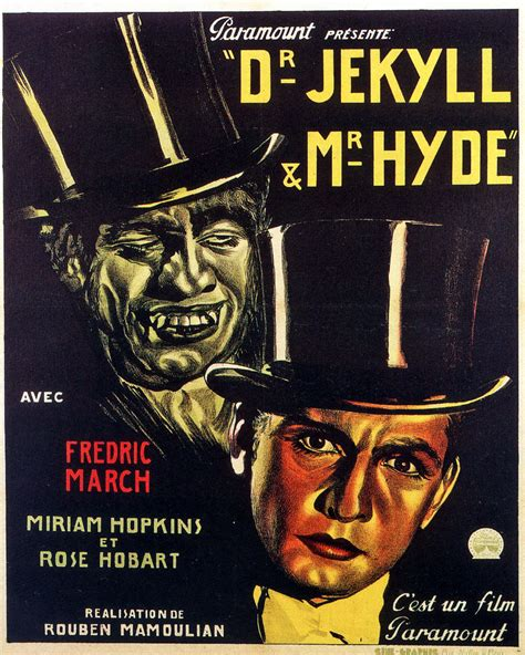 dr jekyll and mr hyde 1931