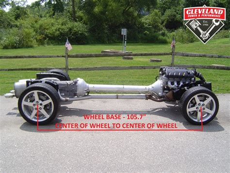 Cadillac On Corvette Chassis by Corvette Rolling Chassis Measurements Cleveland Power