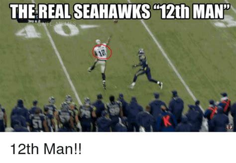 12th Man Meme - the real seahawks 12th man 12th man football meme on