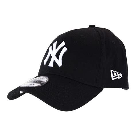 New Era Cae new era new york yankees 9forty cap black white hats
