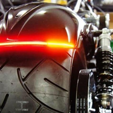 harley tail light turn signal combination radiantz 8 quot z flex all in one turn brake strip
