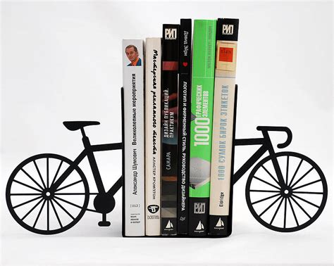 Serre Livre 502 by Bicycle Bookends By Lime Lace Notonthehighstreet