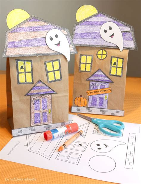 paper bag house craft 1000 ideas about themes on