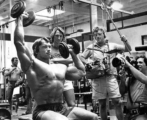 arnold workout and mind