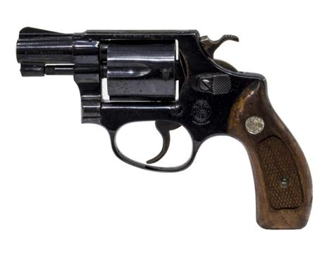 SMITH & WESSON .38 CALIBER REVOLVER