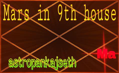 mars in 9th house mars in ninth house astro pankaj seth