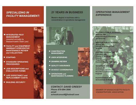 Brochure Sles Pics Brochure Resume Resume Brochure Template