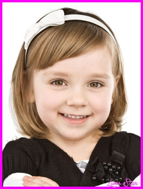 haircuts for girls with thin hair 4 years old cute little girl haircuts with bangs livesstar com