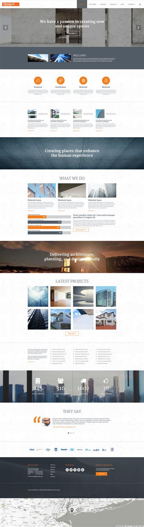 Joomla Design Vorlage joomla vorlage 55598 f 252 r architektur