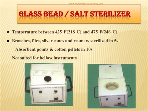 glass bead sterilizer temperature sterilisation in dentistry certified fixed orthodontic