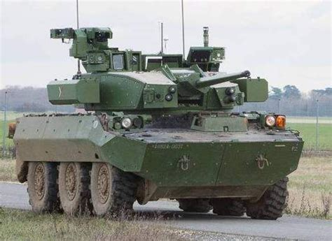 Future Armor Army Style Samsung the t40 turret demonstrator installed on the amx 10rc