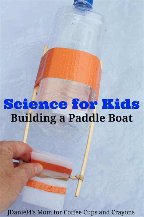science for kids build a paddle boat bigdiyideas - How To Build A Boat Paddle