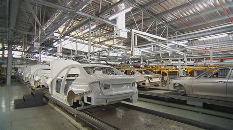 bmw 3 series assembly plant bmw f30 3 series production process at rosslyn plant
