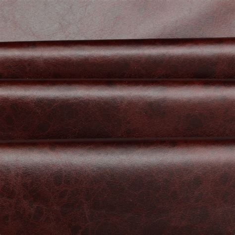 buy leather for upholstery distressed antique aged brown fire retardant faux leather
