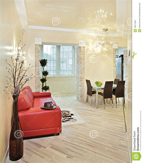 sofa sound studio modern studio interior with red sofa stock photos image