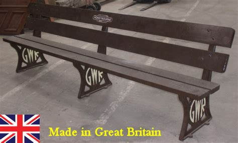 gwr bench gwr great western railway historic railway benches