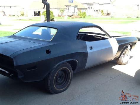 dodge challenger rust  project car