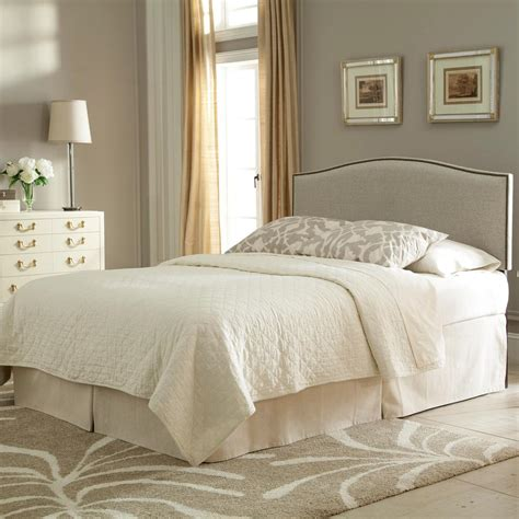 attractive wood and upholstered headboard also fashion bed