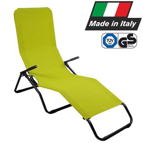 sedie sdraio prezzi sedia sdraio poltrona basculante pasha made in italy