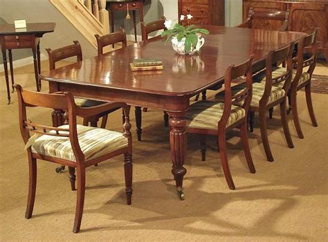 antique mahogany dining table seats 10 antique dining