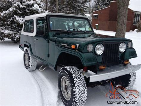 Jeep Commando For Sale 1970 Jeepster Commando