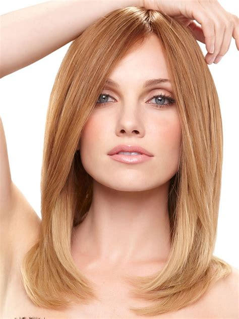 light chestnut brown hair jennifer exclusive colors remy human hair wig by jon renau