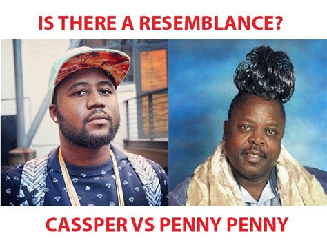 is casper nyovest the son of penny penny is penny penny riding on casspers fame to be relevant