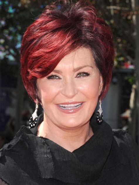 sharon osbournes new hairstyle what color is sharon osbourne hair 2013