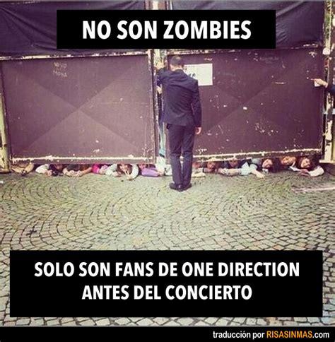 imagenes memes de one direction no son zombies
