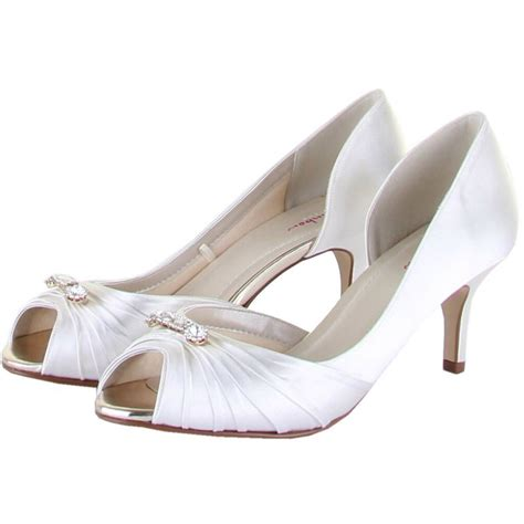 Wedding Shoes Uk by Rainbow Club Arabella Bridal Shoes Perdita S Wedding Shoes