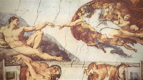 Sistine Chapel Ceiling Adam And God by Radio 4 In Our Time The Renaissance