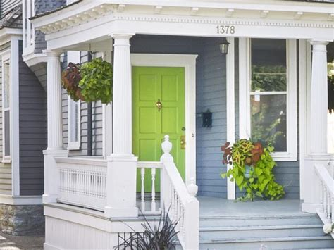 lime green front door bright green doors front door freak